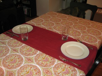 table cloth and runner project 013