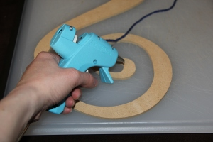 I am not left handed, but I found I could operate the glue gun better left handed than my new big camera left handed :)