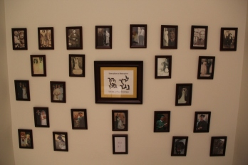 Our Genealogy Wall