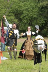 Mayfaire 2008 - Lord Graymantle and Lady Colette (English Lady)