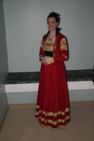 Carolingia Baronial Event 2012 - Cranach Style Gown (German c. 1550s)