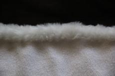 Hand sewn edges