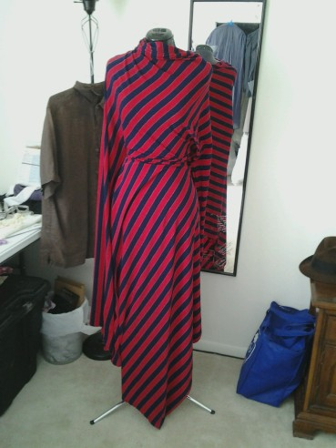 Second draping