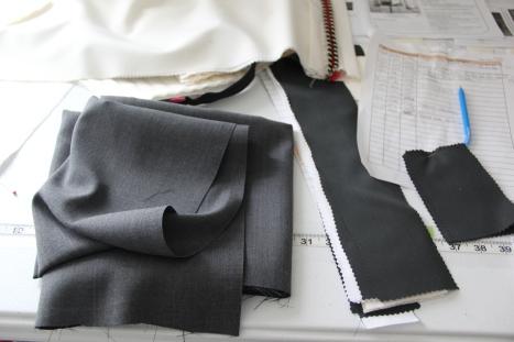 Correct gray fabric