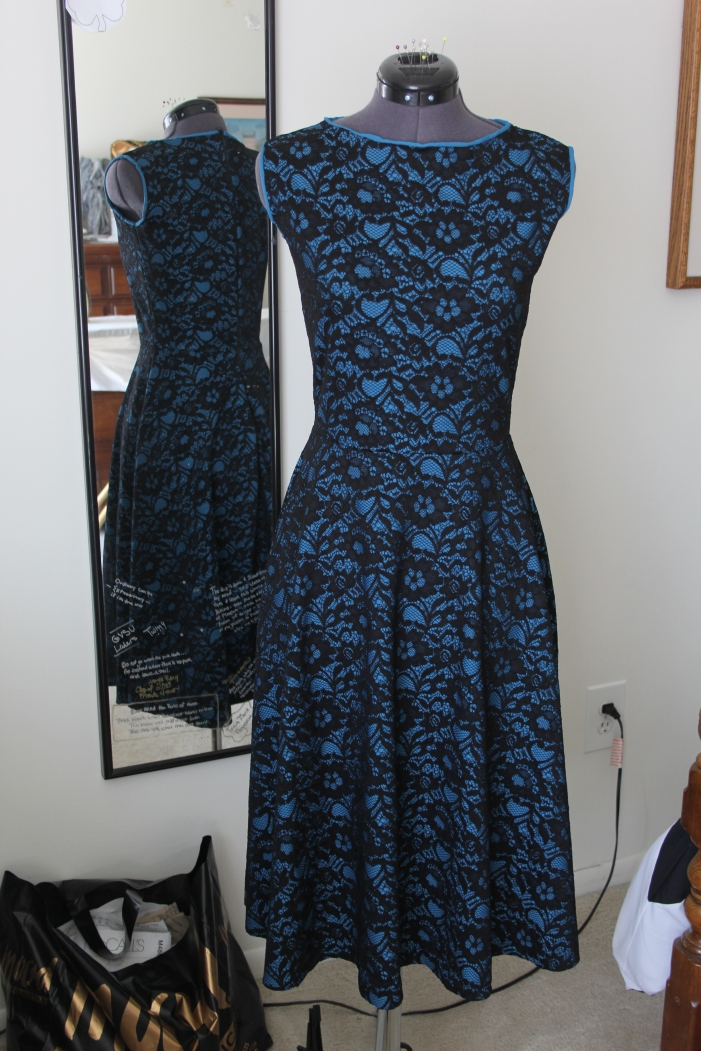 Finished tea dress