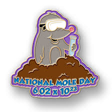 Happy Mole Day! « The Exalted ...